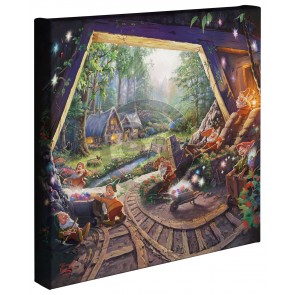 Kinkade Disney Minis: Snow White And The Seven Dwarfs