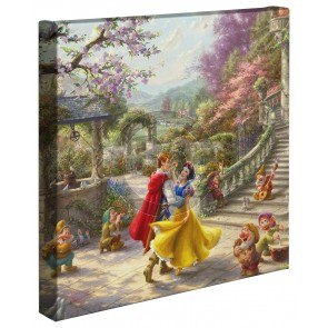 Kinkade Disney Minis: Snow White Dancing In The Sunlight