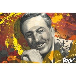 Walt Disney by ARCY
