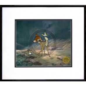 Bambi (Unsigned) Framed