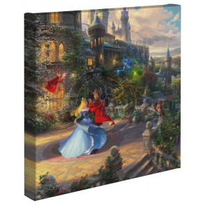 Kinkade Disney Minis: Sleeping Beauty Dancing in the Enchanted Light