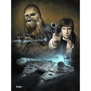 Wookie and the Scoundrel by Rob Kaz