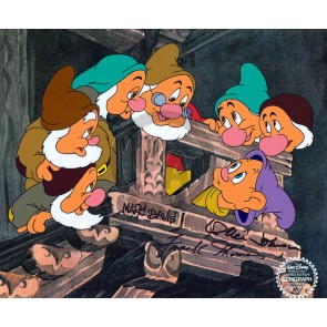 Seven Dwarfs on Staircase (Marc Davis / Ollie Johnston / Frank Thomas)