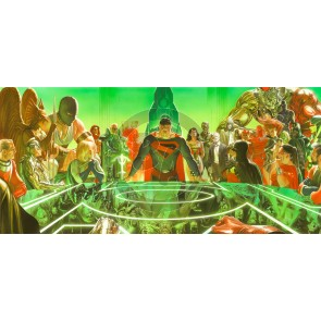 Larger Than Life: Kingdom Come: War Room by Alex Ross