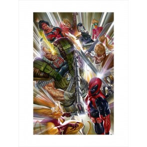 Marvels 4 X-Force by Alex Ross