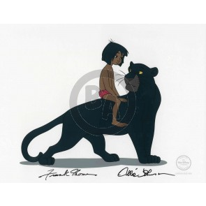 Mowgli's Mentor - Signed by Frank Thomas and Ollie Johnston