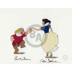 Snow White and Doc Dancing (Ollie Johnston / Frank Thomas)