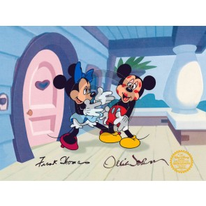 Minnie Loves Mickey (Ollie Johnston / Frank Thomas)