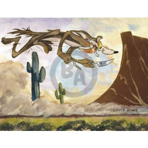 Desert Duo: Wile E. Coyote by Chuck Jones