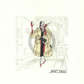 Cruella DeVil Disney Treasure (Marc Davis)