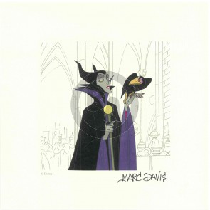 Maleficent Disney Treasure (Marc Davis)