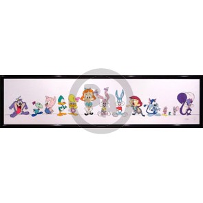 Tiny Toons Adventures Color Line-Up