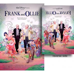 Frank and Ollie Poster-Hand-Signed
