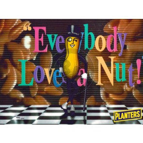 Everybody Loves a Nut (Unframed)