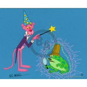 Pink Panther Magician by Friz Freleng