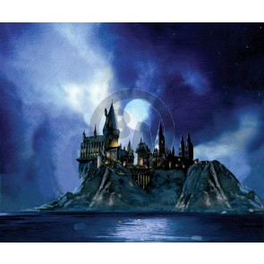 Full Moon at Hogwarts by Jim Salvati (Canvas)