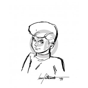 Iwao Takamoto Original Drawing: Jonny Quest (6430)