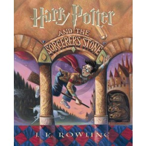 The Harry Potter Front Cover Art Series: Harry Potter and The Sorcerer's Stone