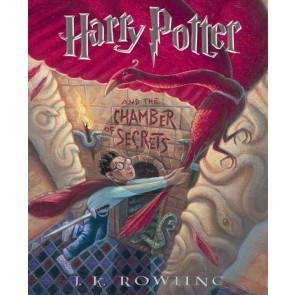 The Harry Potter Front Cover Art Series: Harry Potter and The Chamber of Secrets