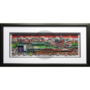 Fenway Park: The Pride of Boston by Charles Fazzino (Framed)