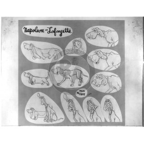 Aristocats Photostat Model Sheet: Lafayette (8012)