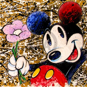 Broken Flower Mickey by David Willardson (Artist Proof)