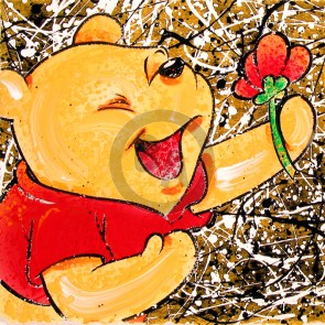 Broken Flower Pooh by David Willardson (Artist Proof)