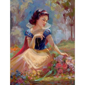 Gathering Flowers by Glass Slipper by Lisa Keene