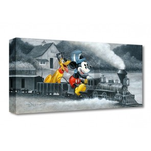 Treasures on Canvas: Mickey's Train by Tim Rogerson