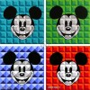 8-Bit Block Mickey Collection
