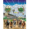 The 2005 Belmont Stakes by Charles Fazzino