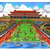 Olympics Games, Beijing 2008 by Charles Fazzino