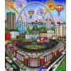 2009 MLB All-Star Game: St. Louis by Charles Fazzino