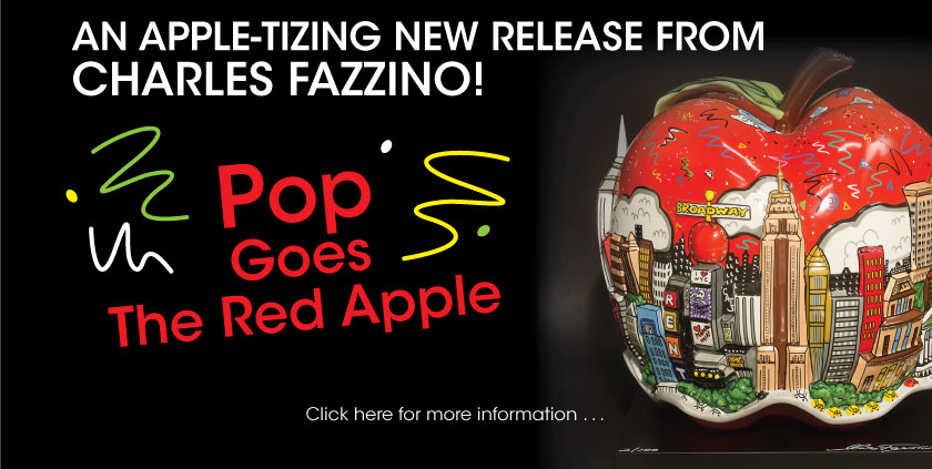 Pop Goes the Red Apple