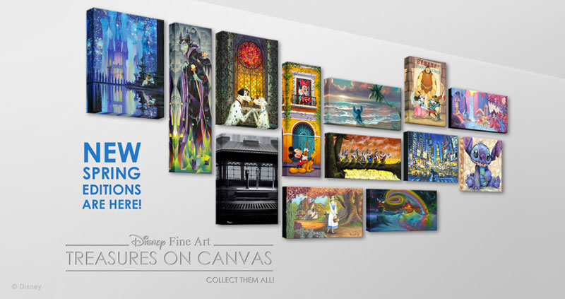 Treasures on Canvas: Spring 2017 Releases