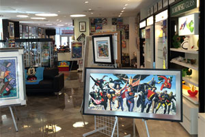 Coconut Creek Gallery Interior