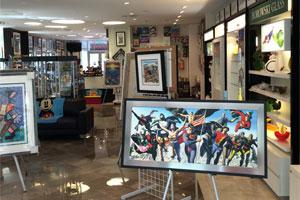 Coconut Creek Gallery Interior