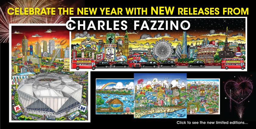 Fazzino New 2019 Releases