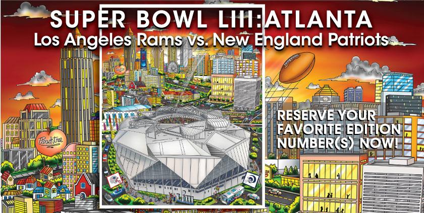 Super Bowl LIII: Atlanta