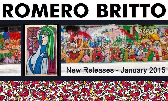 Romero Britto January 2015 Releases