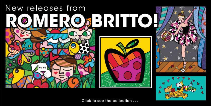 New Britto Releases