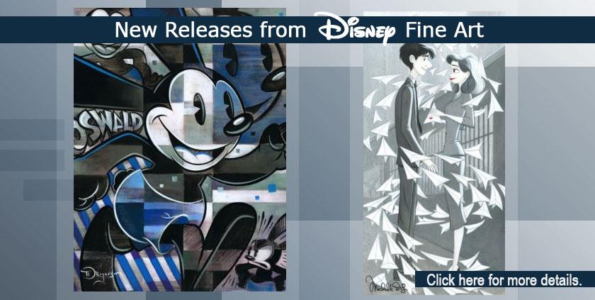 Disney Fine Art Fall 2017 Releases