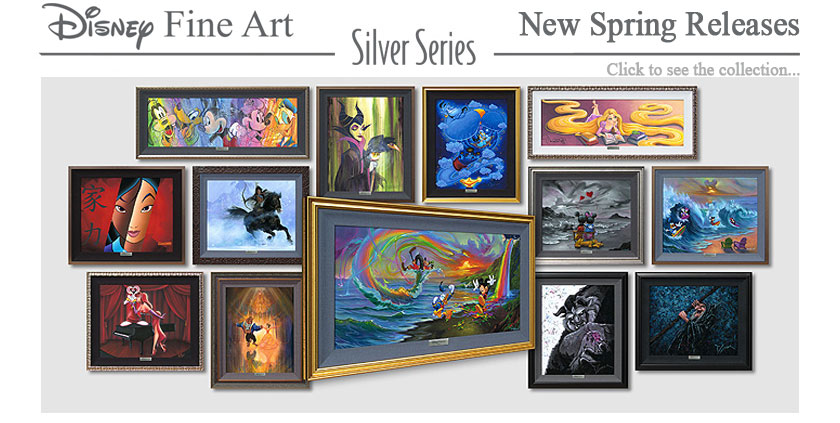 Disney Fine Art Silver Series