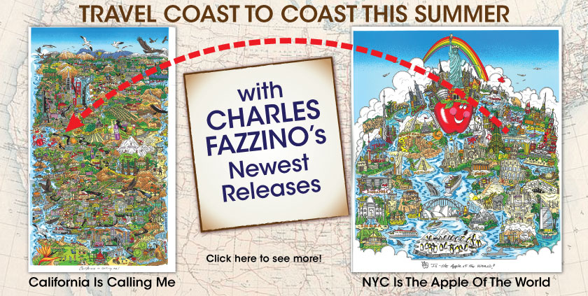 New Releases by Charles Fazzino
