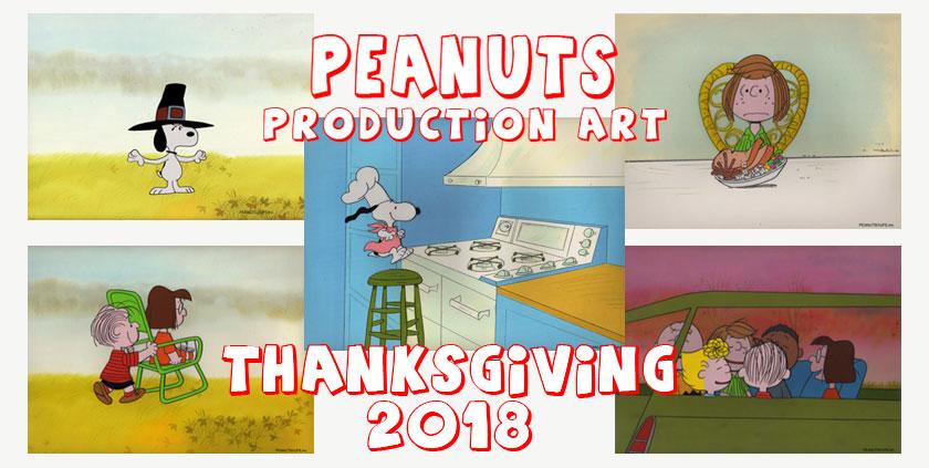 PEANUTS Original Production Art: Thanksgiving 2018